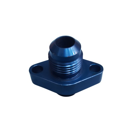 OIL PAN ADAPTER AN8/BLUE