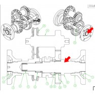Reverse Gearbox Output Shaft